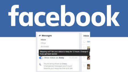 Absent de la page Facebook : un nouveau statut à venir ?