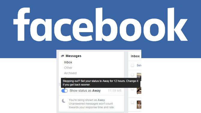 Facebook absent