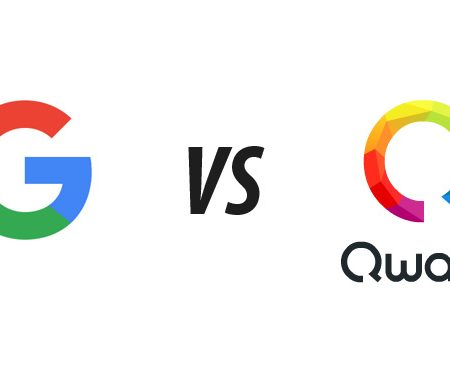 Quand Google copie le logo de Qwant !