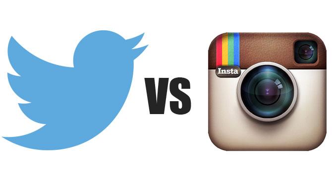 logo twitter instagram