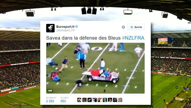 FRA VS NZL Twitter