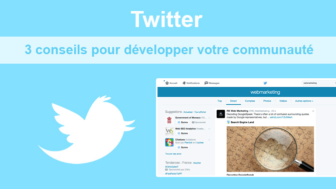 Conseils Twitter