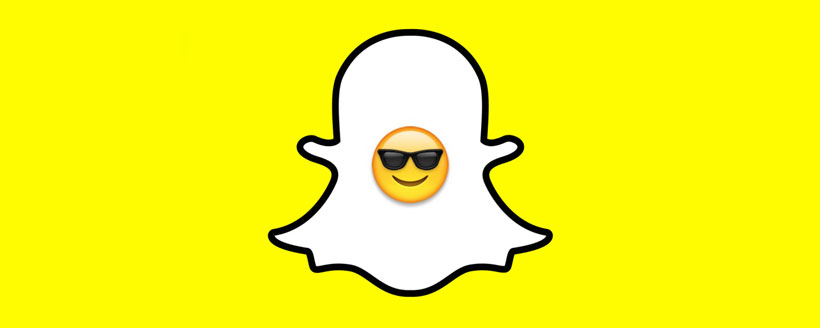 emoticone snapchat lunettes de soleil
