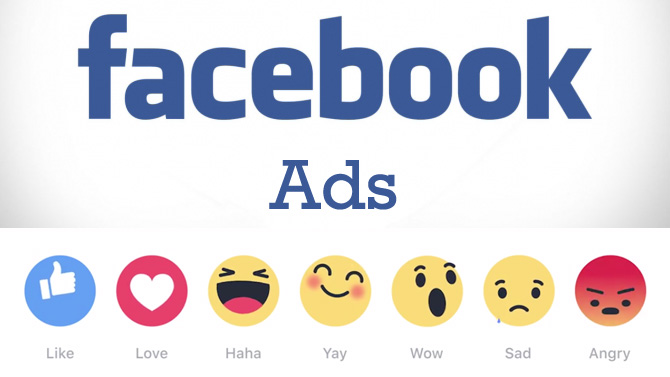 Facebook ads reactions