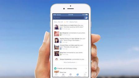 Facebook Now : vos notifications sous un autre angle !