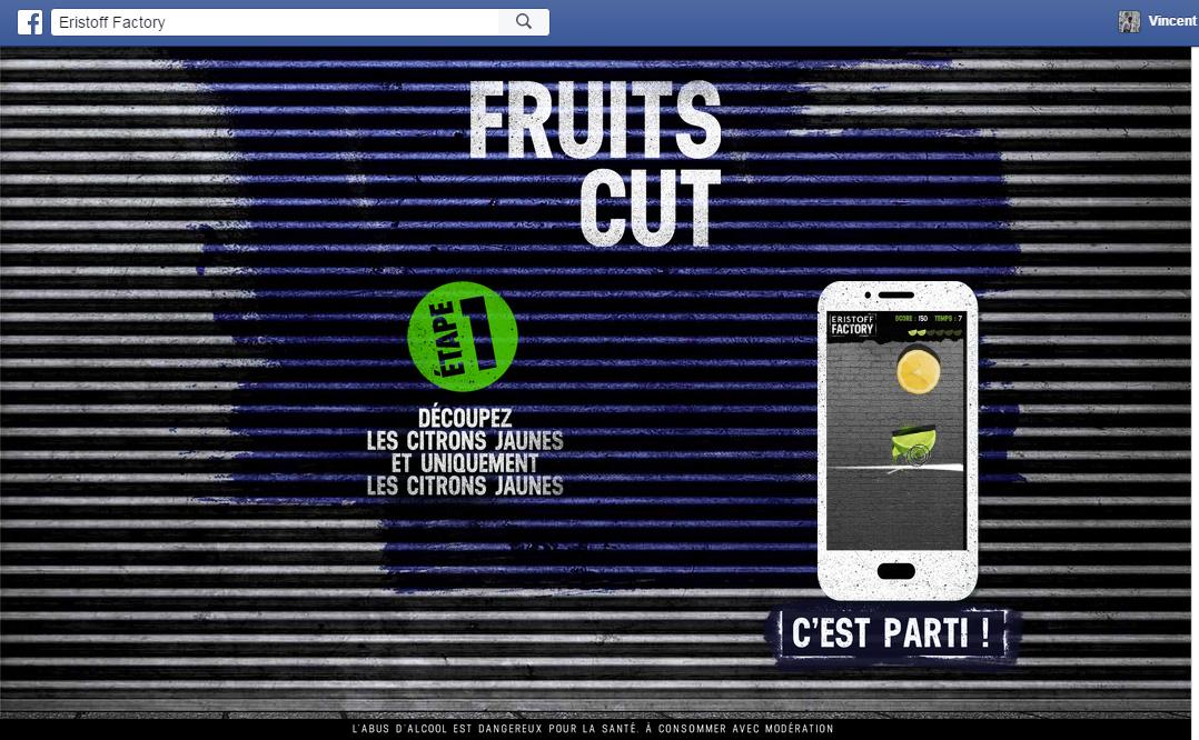 fruit cut eristoff factory