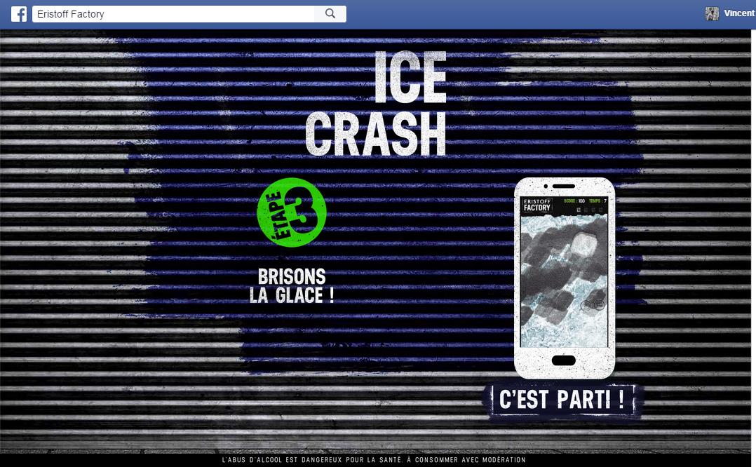 ice crash eristoff factory