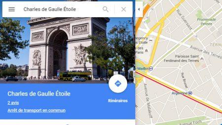Google Maps nous dévoile une toute nouvelle interface !