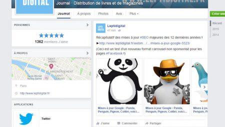 Comment créer une publication Facebook au format carrousel sans payer ?