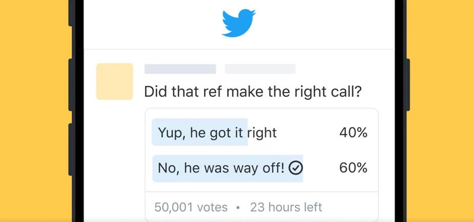 Résultats sondage twitter