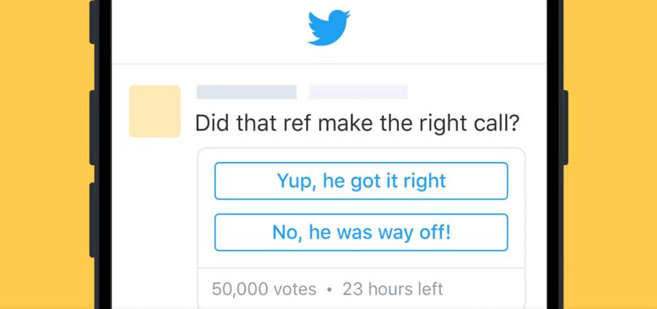sondage twitter