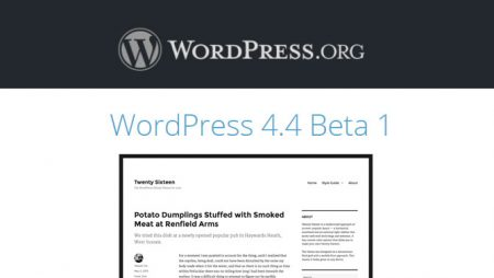 WordPress 4.4 arrive, testez la Beta en avant première !
