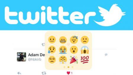 De nouveaux émoticônes arrivent sur Twitter !