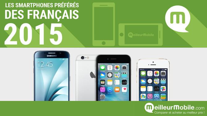 Meilleurs smartphones 2015