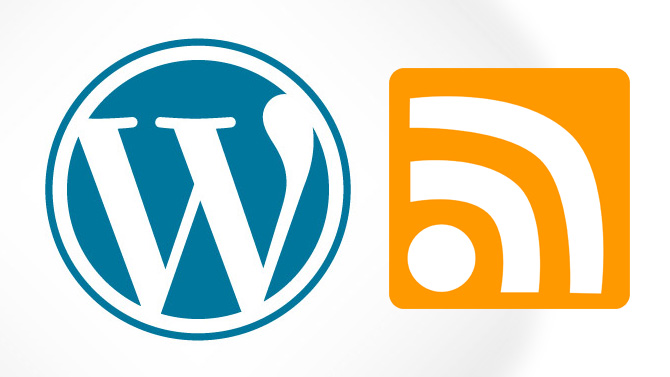 WordPress flux rss