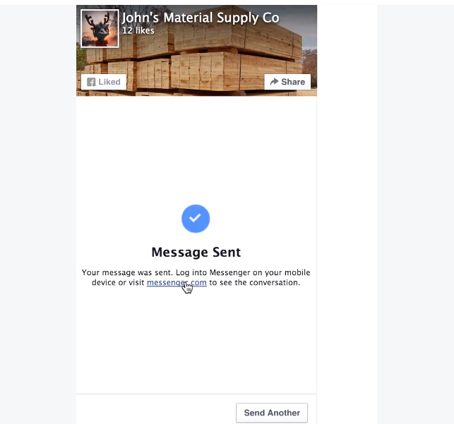 chat page plugin facebook