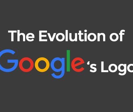 L'évolution du logo Google de 1998 à 2017 en une infographie !
