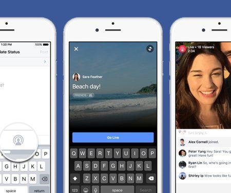 Facebook Live Video, Collage, Partage Mobile : 3 nouveautés à découvrir !