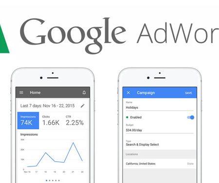 Google lance son application Google Adwords pour iPhone !