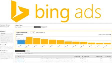 Bing Keyword Planner s'offre 4 nouvelles fonctionnalités !