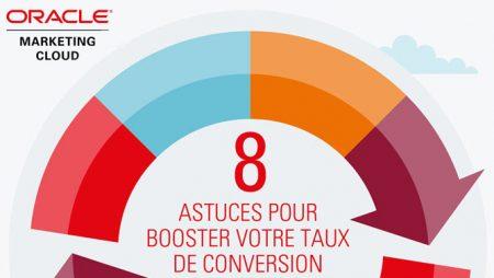 [Infographie] 8 astuces pour booster votre taux de conversion !