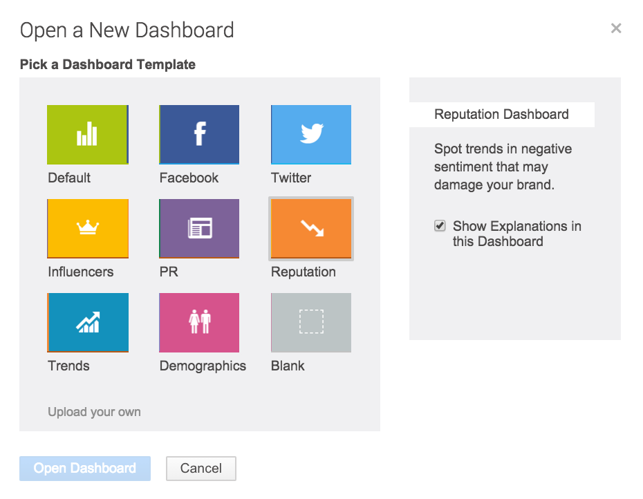 dashboard brandwatch