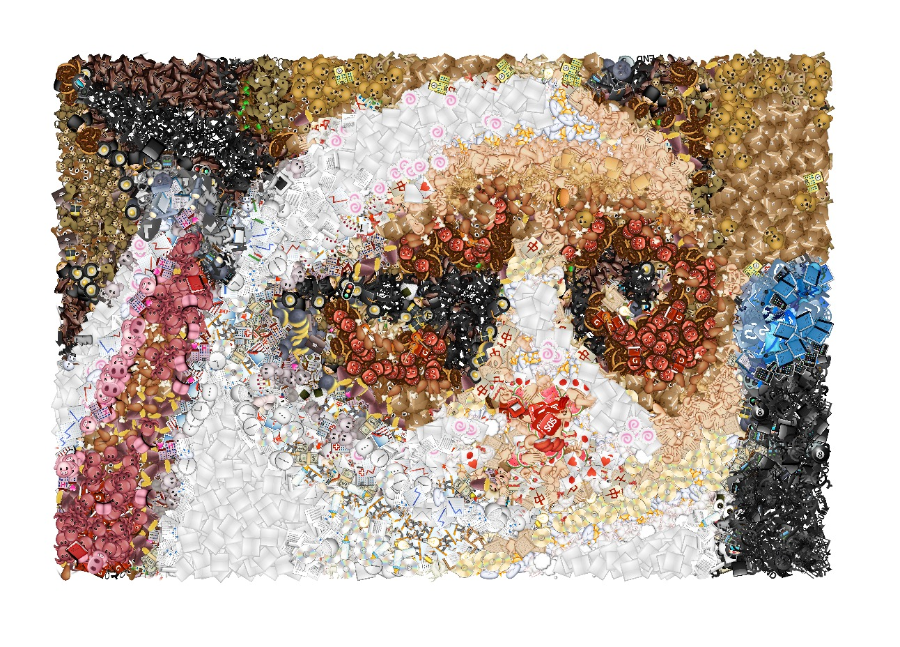 emoji mosaic chat