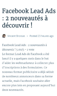 exemple amp wordpress