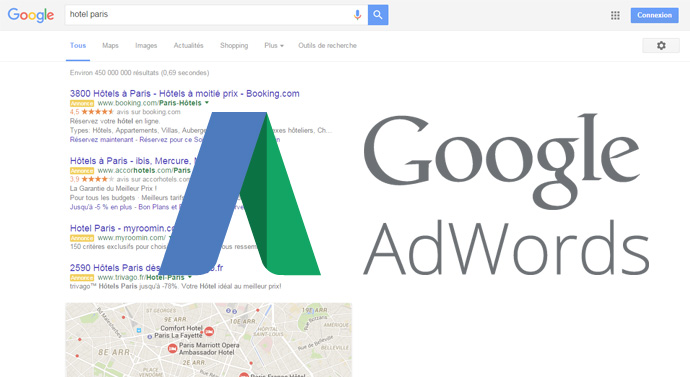 changement Google Adwords
