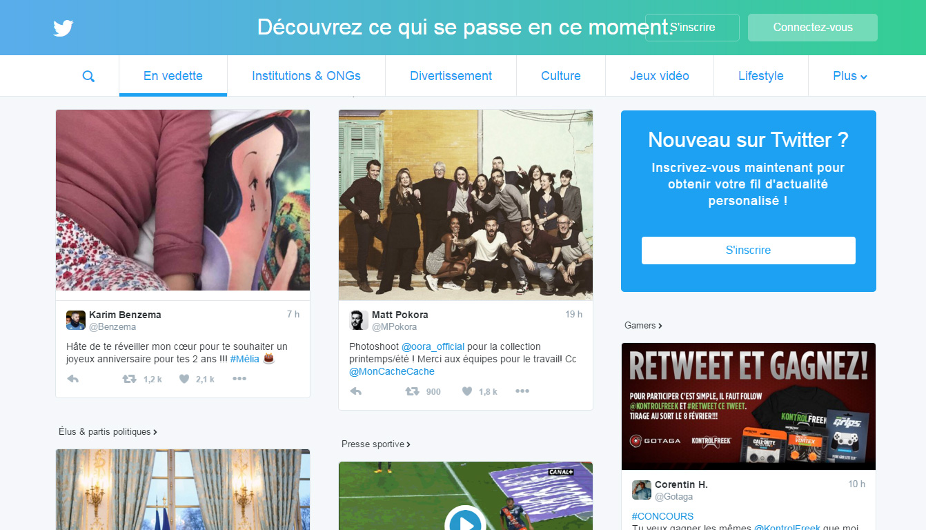 nouvelle home Twitter 2016