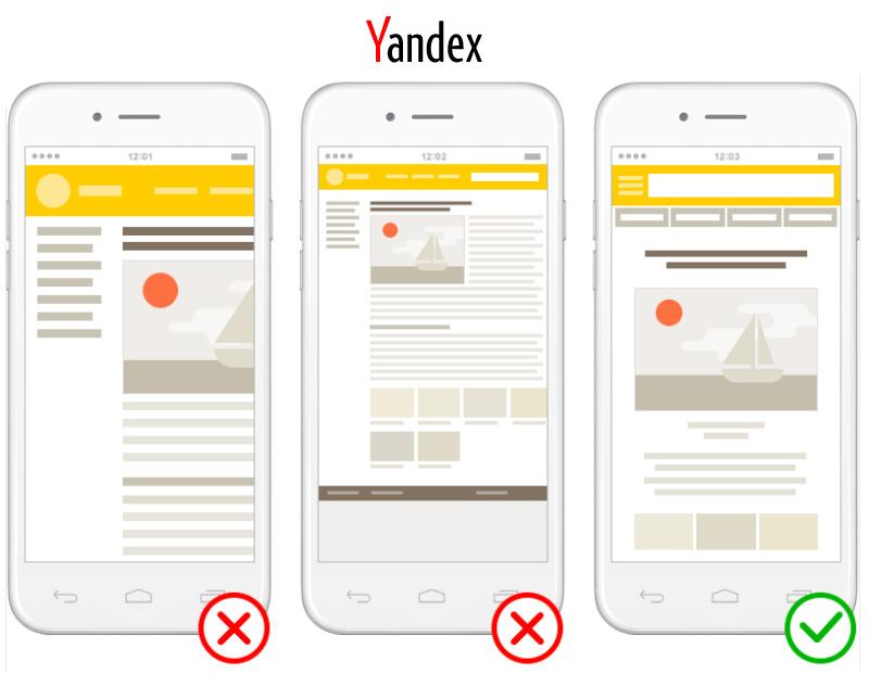 yandex mobile friendly