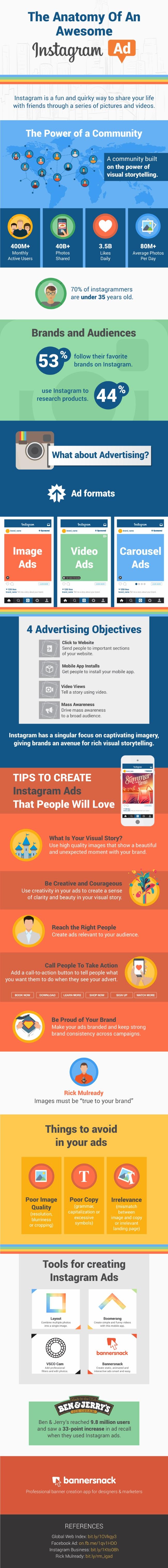 comment réussir publicité instagram