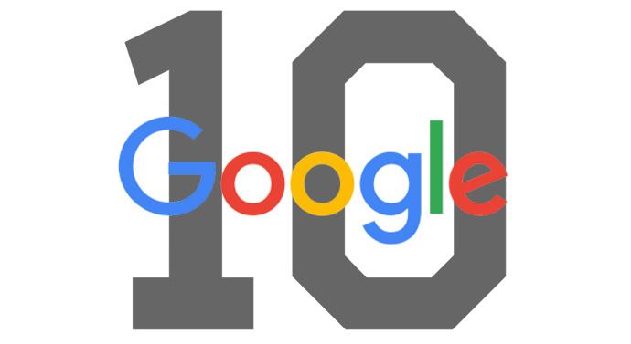 google position 10