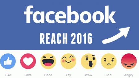 La portée organique des pages Facebook en hausse en 2016 !