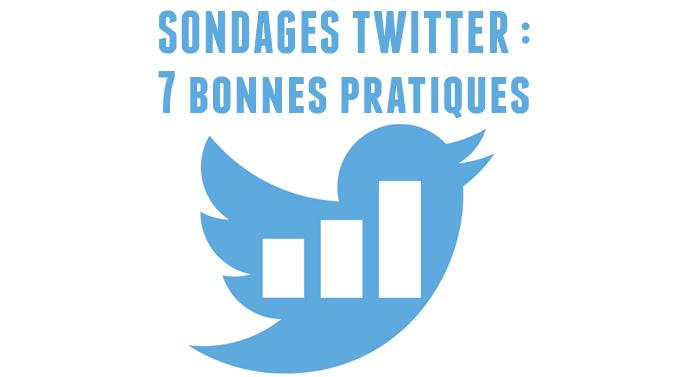 sondages Twitter