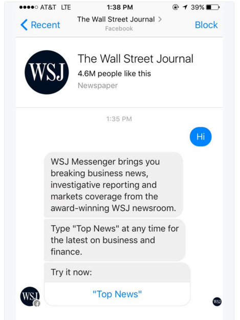 chat-bot wall street journal