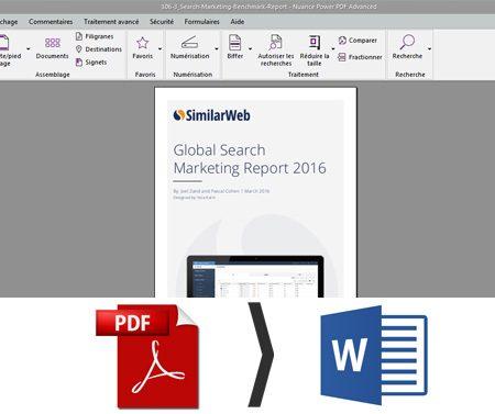 Comment convertir ou modifier un PDF avec Power PDF ?