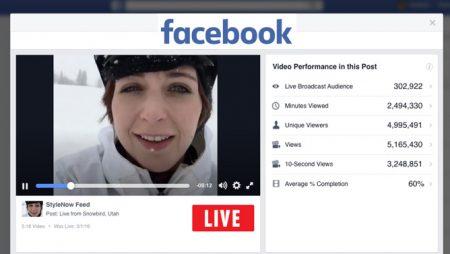 Facebook dévoile deux nouveaux rapports pour les Live Video !