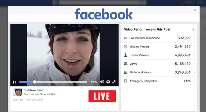 facebook live rapport