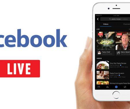 Facebook dévoile un moteur de recherche de vidéos Live !