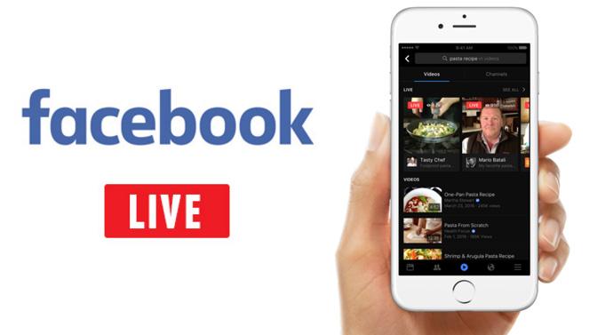 facebook live recherche