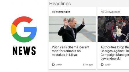 La carrousel AMP arrive sur Google News !
