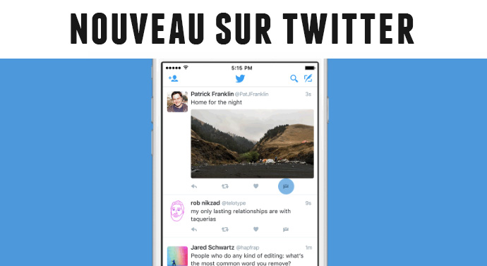 partage tweets direct message Twitter