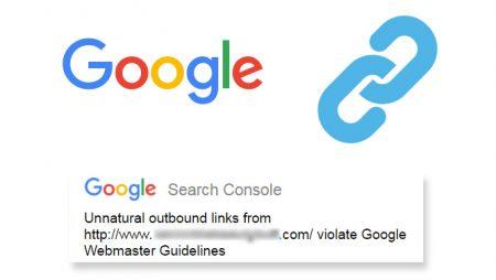 Google : une vague de pénalités manuelles pour liens sortants factices !