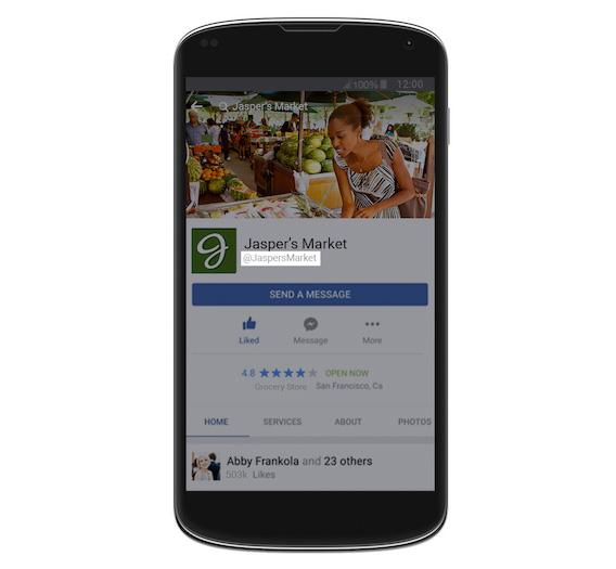 username facebook messenger