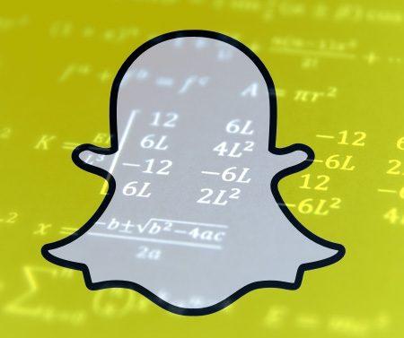 Un algorithme Snapchat pour gérer les publications des marques ?