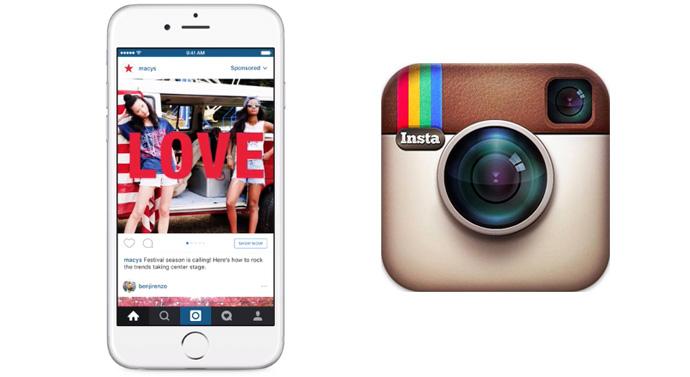 carrousel vidéos publicitaires Instagram