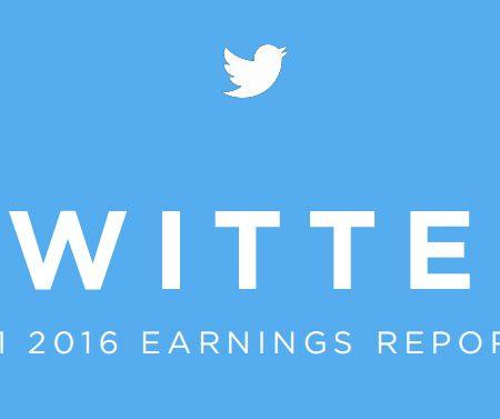 Chiffres Twitter Q1 2016 : des résultats en demi-teinte !
