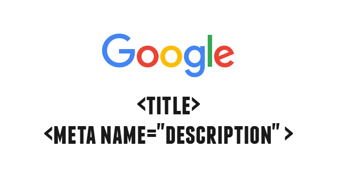 google title meta description