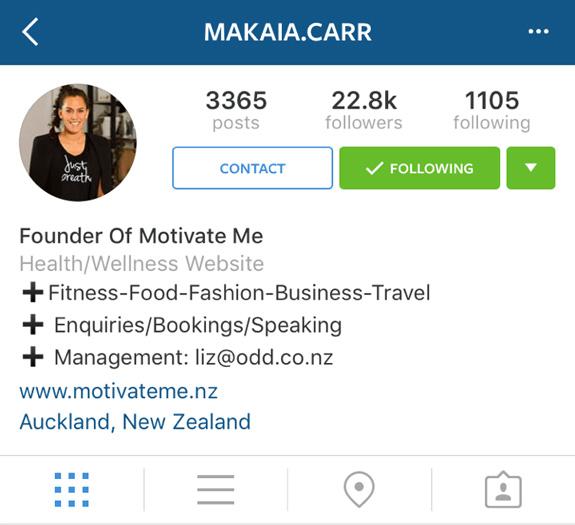instagram compte entreprise